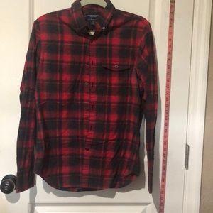 AEO RED/BLACK Slim fit